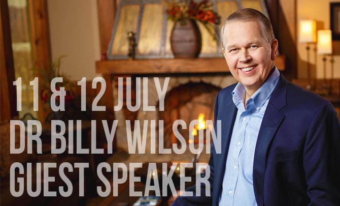 Guest Speaker: Dr Billy Wilson
