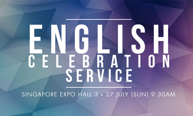 English Celebration Service @ Singapore EXPO