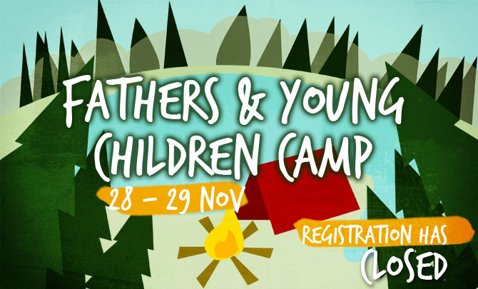Fathers & Young Children Camp