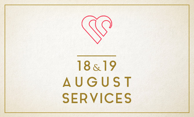 Services on 18 & 19 August