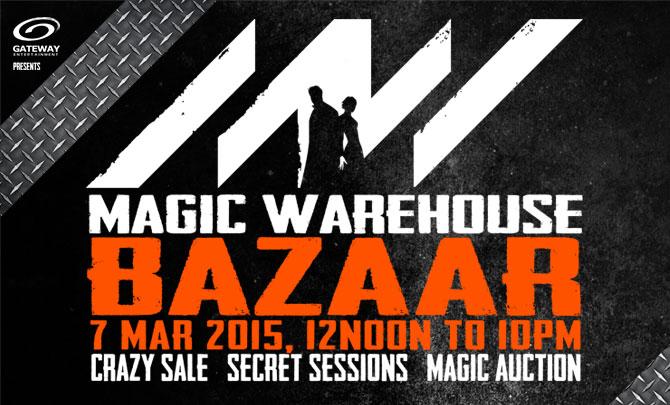 Magic Warehouse Bazaar