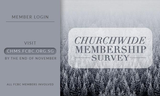 Churchwide Membership Survey