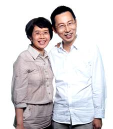 王福强牧师与高秀凤牧师团队
