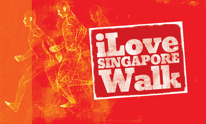 iLoveSingapore Walk 2014: Collection of Pledge Envelopes