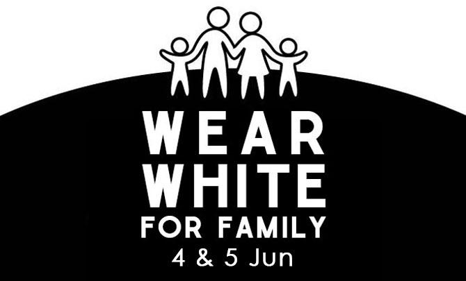 Wear White for Family